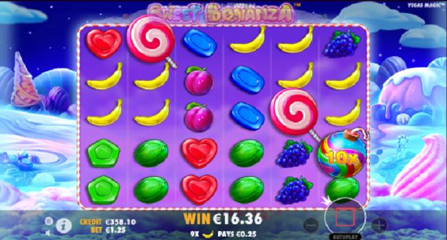 Play sweet bonanza slot game